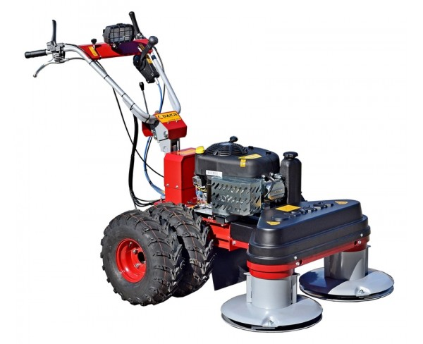 Panter FD-3 500 cc and RZS 121 Two-drum mower