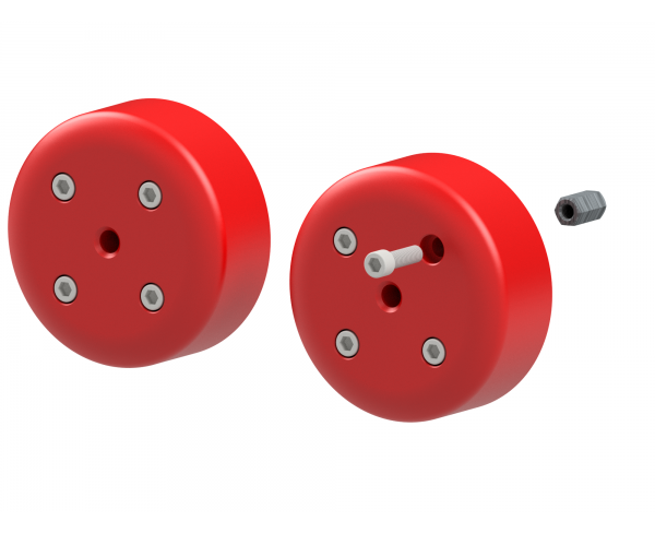 Set of weights for FD-5 wheels (2 x 12,5kg)