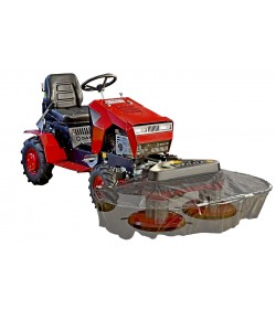 Panter FD-5 + RZS 121 two-drum mower